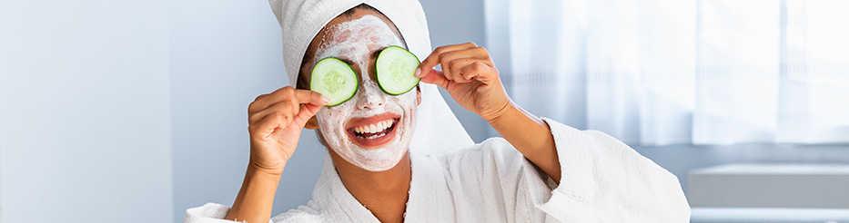Routine beauté pour peau déshydratée
