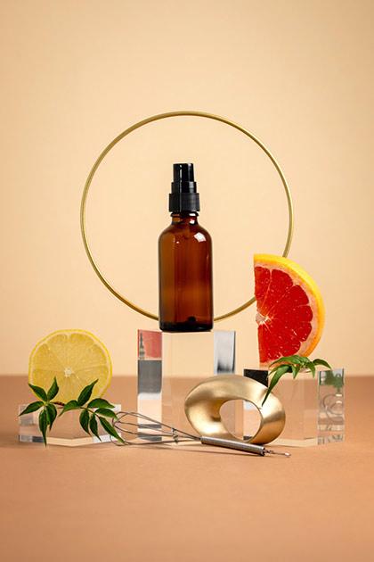 """Spray """"peau neuve"""" aux acides de fruits"""