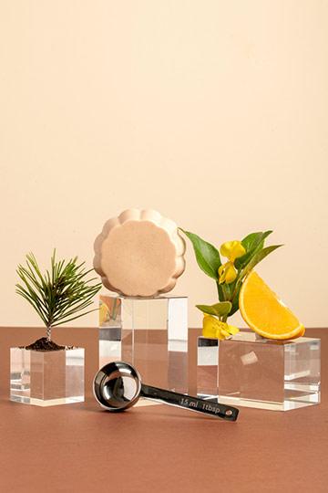 Savon illuminant tonique orange & ylang