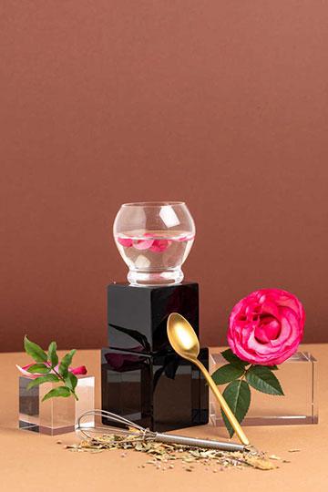 Eau micellaire thé vert & rose