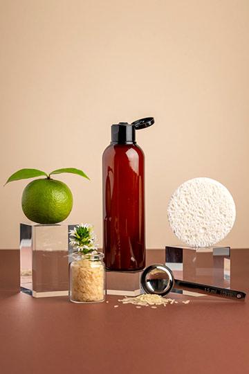 Shampoing/douche famille riz & mandarine