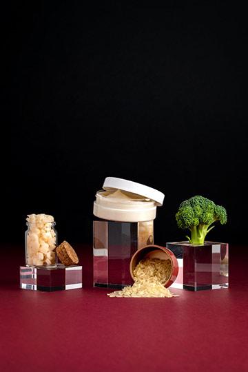 Masque capillaire cheveux abimés karité & riz