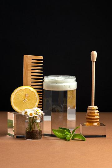 Masque illuminant miel, citron & camomille