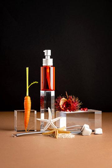 Huile sublimatrice de bronzage abricot & urucum