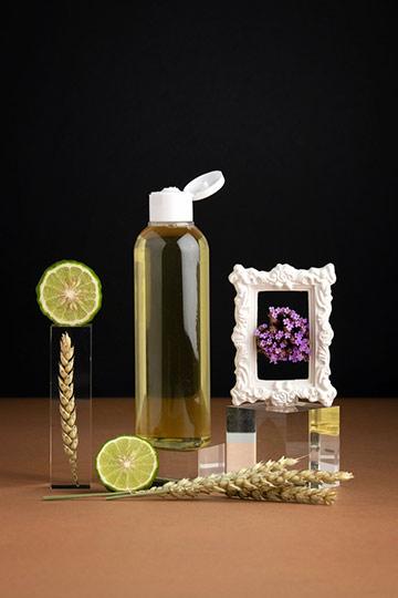 Shampoing/douche réparateur bergamote