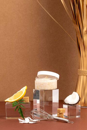 Body scrub sucre, citron & coco