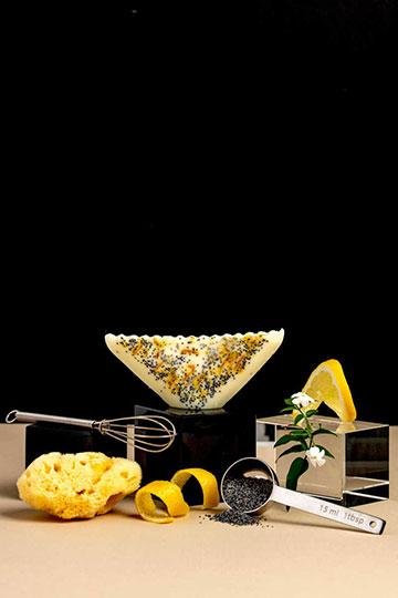 Savon exfoliant citron & pavot