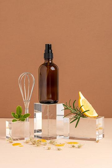 Spray assainissant aérien aux huiles essentielles