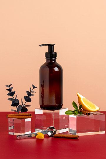Gel nettoyant mains aux huiles essentielles