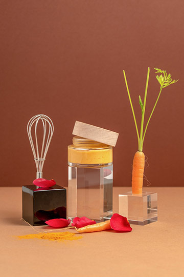 Crème bonne mine fermeté carotte & rose