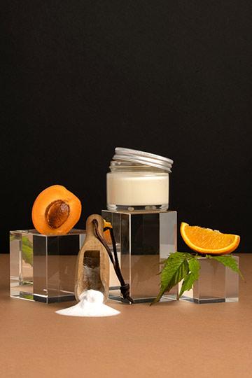 Baume déodorant abricot & petit grain