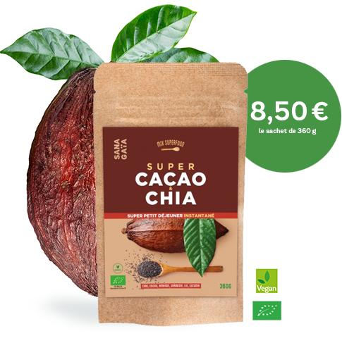 Mix petit-déjeuner cacao Sana Gaïa