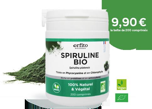 Spiruline Bio Orfito