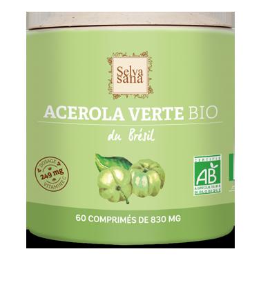 Acérola verte Bio 100%