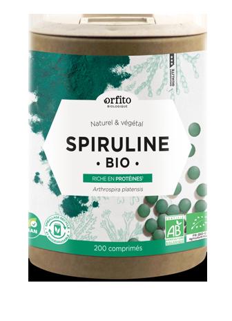 Spiruline Bio 500 mg