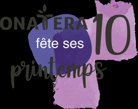 Logo 10 ans Onatera